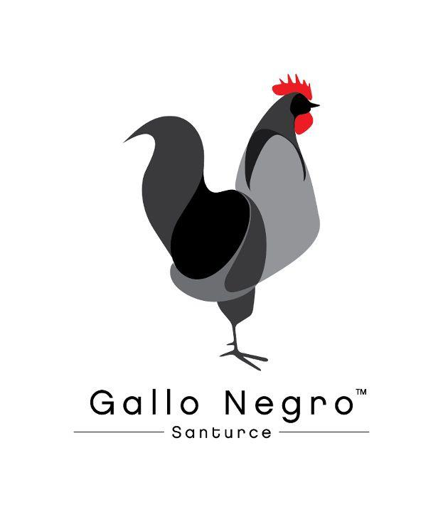 Gallo Negro, el logo.